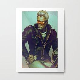 soldier 76 1900 Metal Print