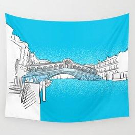Venice Rialto Bridge Wall Tapestry