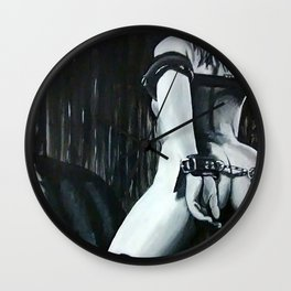 The Submissive 2 Wall Clock