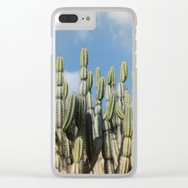 Desert Vibes Clear iPhone Case