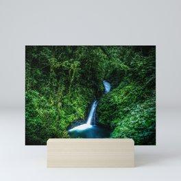Jungle Waterfall Mini Art Print