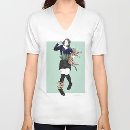 The Great Gaxi Unisex V-Neck