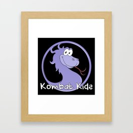 Kombat Kids Logo Framed Art Print
