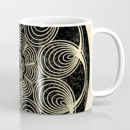 Antique Spiral Geometry Coffee Mug