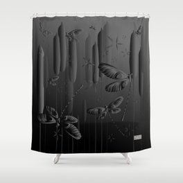 CN DRAGONFLY 1020 Shower Curtain