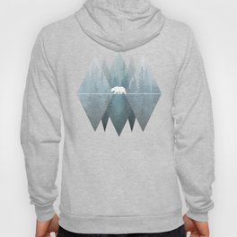 Misty Forest Mountain Bear Hoody