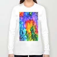 karma Long Sleeve T-shirts featuring Karma by Claire Day