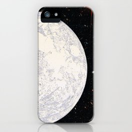 Moon machinations iPhone Case