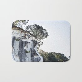 Cathedral Cove, New Zealand Bath Mat