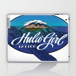 HULA GIRL TATTOO MAUI TURTLE Laptop & iPad Skin