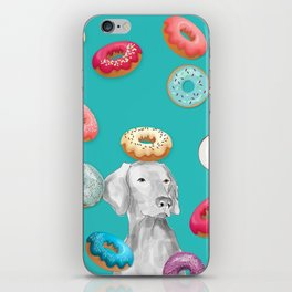 DOG AND DOUGHNUTS iPhone Skin