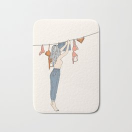 Girl Next Door Bath Mat