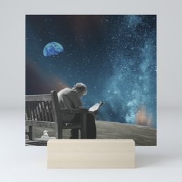 Forever Curious s2 - At the Shuttle Station Mini Art Print