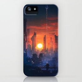 Barcelona Smoke & Neons: The End iPhone Case