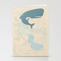 moby Stationery Cards featuring MOBY by T-Rexxx