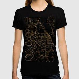 Hanoi map, Vietnam T-shirt