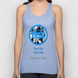 Royal Society Fitness Combat Laguna Blue Unisex Tank Top