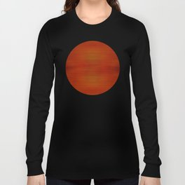 Summer Sunset Light Abstract Pattern Long Sleeve T-shirt