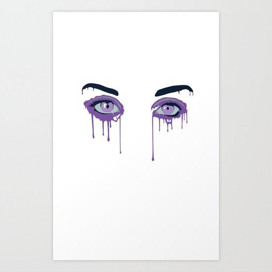 IPHONE: Dripzy Art Print