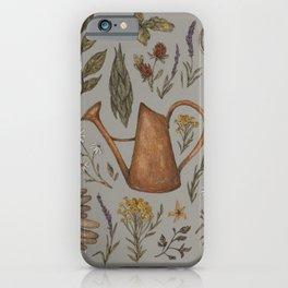 Gardening iPhone Case
