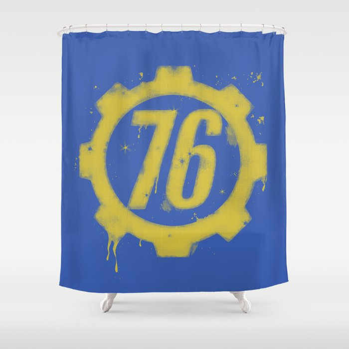 Shelter 76 Shower Curtain By Vicinflight