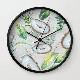Aura Gemstone Wall Clock