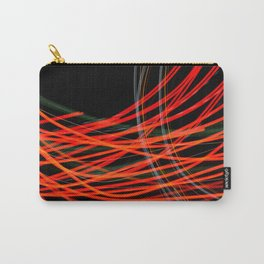 Red Streaks Carry-All Pouch