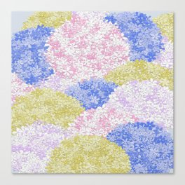 Fields Of Hydrangeas Canvas Print