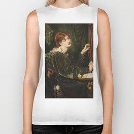 Dante Gabriel Rossetti - Veronica Veronese Biker Tank
