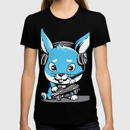 Kawaii Gamer Bunny Rabbit Pastel Shirt Cute Gift T-shirt