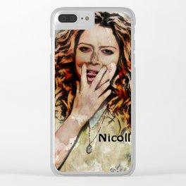 NICHOLLS Clear iPhone Case