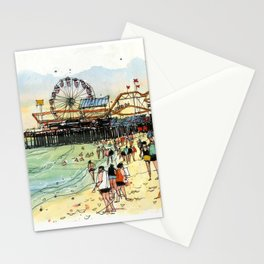 Santa Monica Seaside Stationery Cards