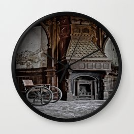 lost fireplace Wall Clock