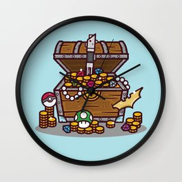 Epic Geek Loot Wall Clock