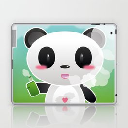 Vapers are Welcome (panda edition) Laptop & iPad Skin