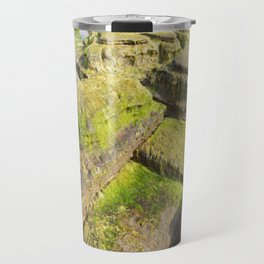 Mossy Beach Travel Mug