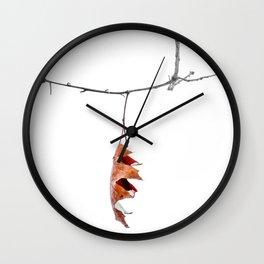 Sinking Wall Clock