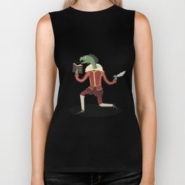 William Snakespeare Biker Tank