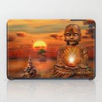 buddha iPad Cases featuring Buddha by teddynash