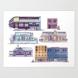 Fondren Funk | Jackson, MS Art Print