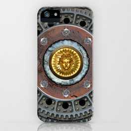 Sunshine over the Manhole Cover iPhone Case