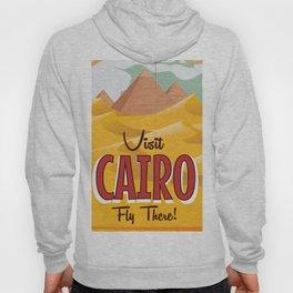 Cairo,Egypt vintage Travel poster Hoody