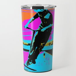 The Bunny Hop - Scooter Stunt Travel Mug