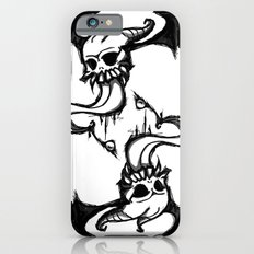 winged skull and tongue iPhone 6s Slim Case