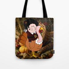 Thanksgiving turkeys Tote Bag