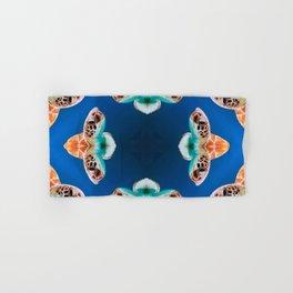 Turtle Pattern - Ocean Creatures - Blue Sea - Turtle Masked Hand & Bath Towel