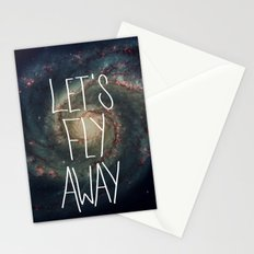 Let's Fly Away (come on, darling) Stationery Cards