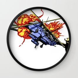 Bear vs. Apache Wall Clock