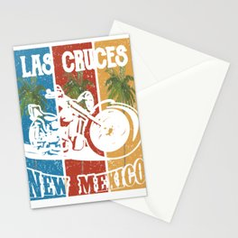Las Cruces New Mexico Lifestlye Retro Custom Stationery Cards