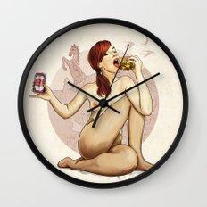 Mrs. Colorado Wall Clock
